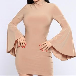 Babette Bell Sleeve Dress